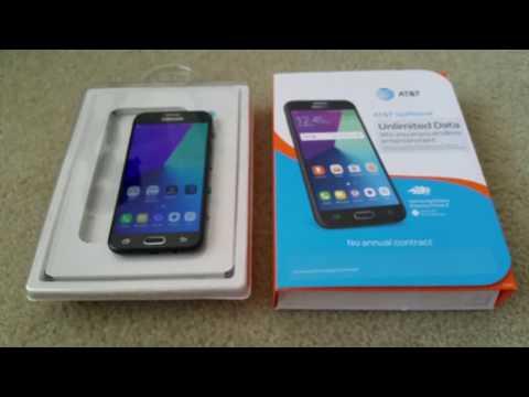 How To Install & Remove Samsung Express Prime 2  GSM Nano SIM & MicroSD Memory Cards Full HD 2017