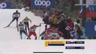 Лахти Мужчины Эстафета Сборная России третья лыжные гонки лыжи 01 03 2020