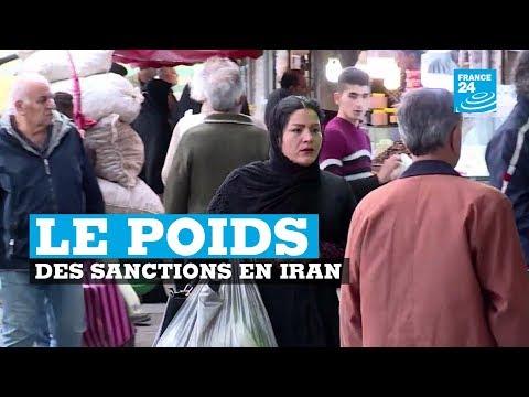 Iran, le poids des sanctions