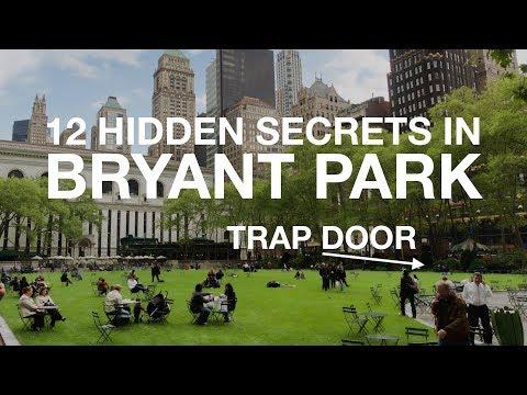 12 HIDDEN SECRETS in Bryant Park | New York City