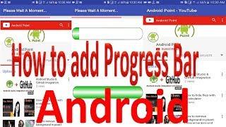 Custom Progress Bar Android Studio