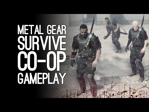 Metal Gear Survive Co-Op Gameplay: Let's Play Metal Gear Sur