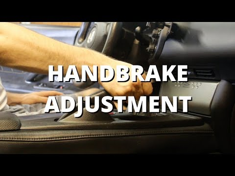 Handbrake Adjustment | Honda S2000
