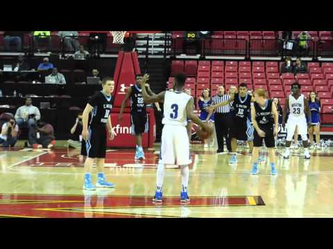 Lorenzo basket C.M. Wright/Stephen Decatur boys basketball OT Class 3A state final 03/12/16