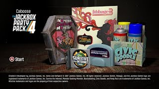Jack Box Party Pack 4 - THE SHORT VERSION 12-2-2017