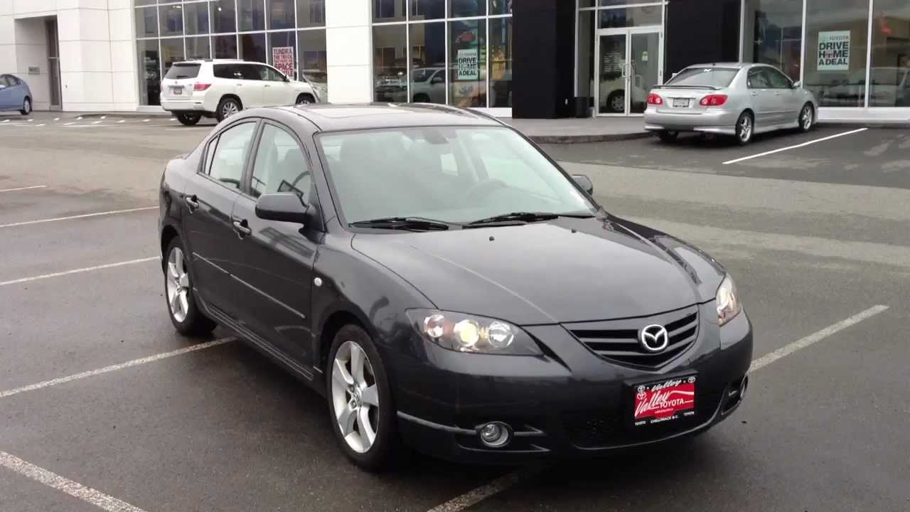 sold 2006 mazda 3 gt 13205b for sale at valley toyota scion in chilliwack bc youtube. Black Bedroom Furniture Sets. Home Design Ideas