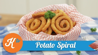 Resep Potato Spiral | LADY DE LAURA