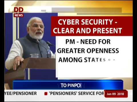 Cyber security issues should be dealt immediately : PM Modi