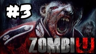 ZombiU Gameplay Walkthrough Part 3 - DEFEND THE HOUSE - Wii U Gameplay