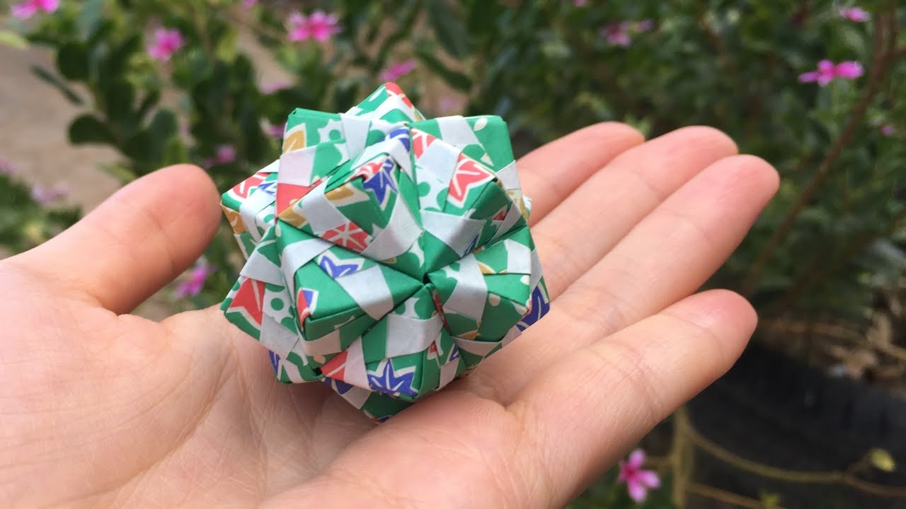 Modular Origami - spiky balls and stellated polyhedra models ... | 720x1280