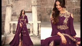 Designer Suits Neck || Ladies Suits For Wedding || Suit Design for Stiching