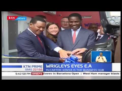 Mars Wrigley confectionery manufacturer opens new plant in Athi River