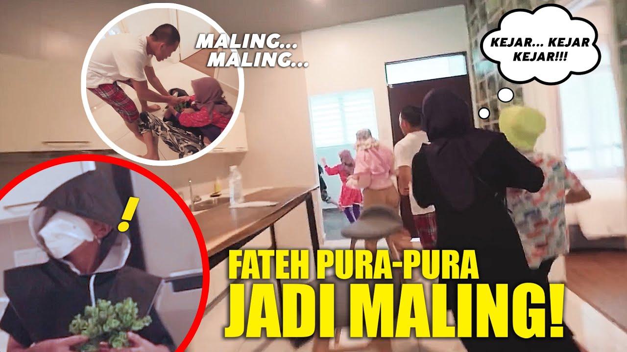 SEMUA PANIK NGEJAR!! FATEH PURA2 JADI MALING, BIKIN NGAKAK