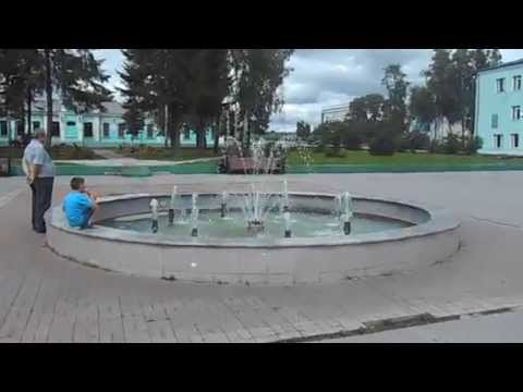 Фонтан в городе Топки