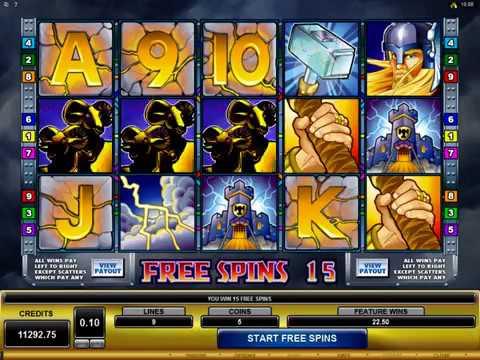 Microgaming Thunderstruck Slot Review: Big Wins, Jackpots, Bonus Rounds