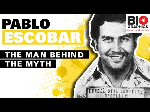 Pablo Escobar Biography: Colombian Drug Lord and Narcoterrorist