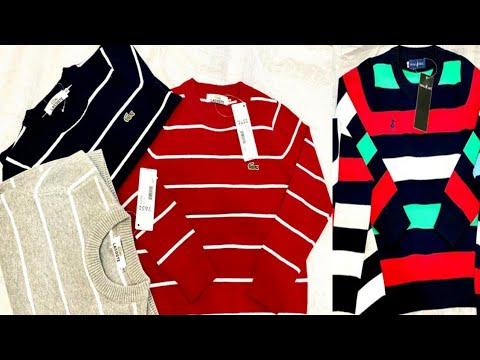 winters Jersey new style Boy to sweaters export surplus clothes market Lahore JFK wholesale