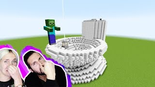 RIESIGES KLO LUCKY BLOCK BATTLE! Riesen-Zombie erledigt sein Riesen-Geschäft? Minecraft Nina + Kaan