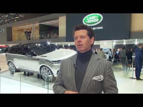 Jaguar Land Rover at Geneva Motor Show 2017 - Interview Gerry McGovern | AutoMotoTV