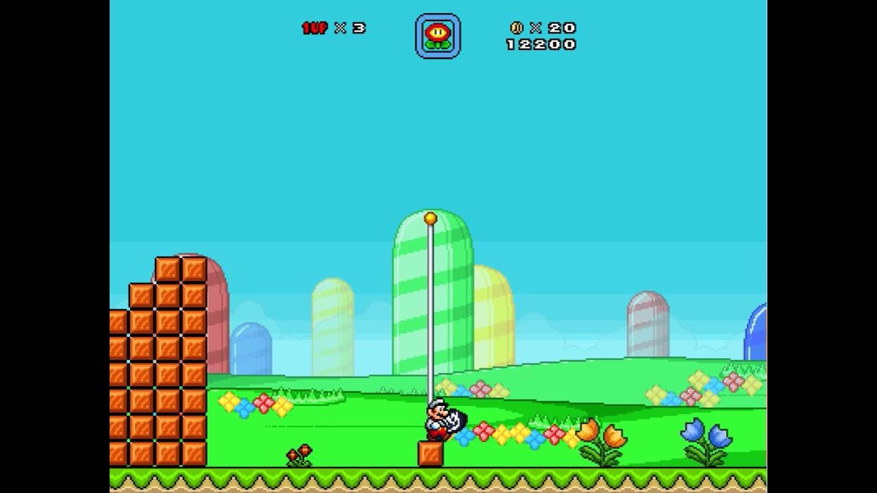 Super mario bros x levels | Super Mario Bros X Free Download for