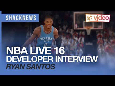NBA LIVE 16 - New shooting mechanics, ESPN partnership, mobile face scanning app with Ryan Santos