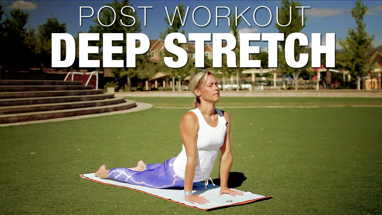 15 Min Post Workout Deep Stretch Yoga Class - Five Parks Yoga