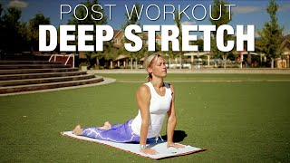 15 Min Post Workout Deep Stretch Yoga Class - Five Parks Yoga