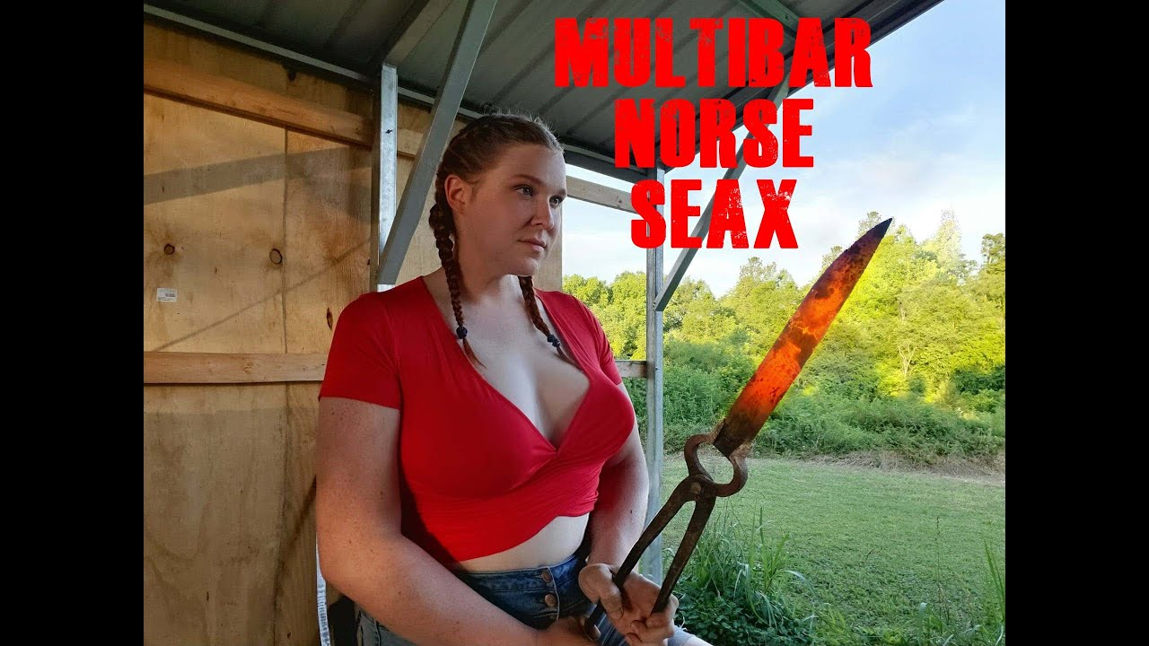 Multi Bar Norse Seax: part 1
