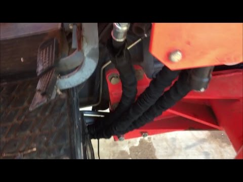 Tractor Tips And Tricks~Hydraulic System Oil And Filter Change - YouTube
