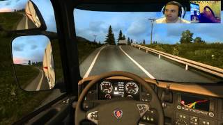 ETS 2 - Dalla Polonia Alla Svezia Parte 1 - Gameplay Ita
