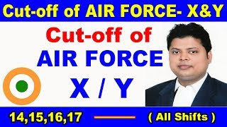 Expected #Cut off of #AirForce #Group-X&Y #All-shifts