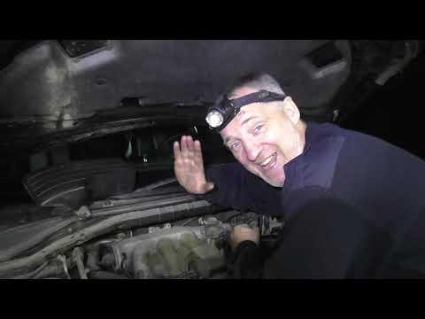 Nissan Murano - противный не понятный свист из под капота