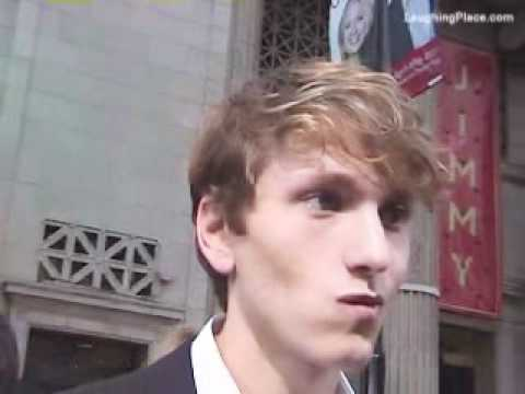 Actor Benjamin Stone At The Disney's Prom World Premiere