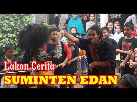 VIDEO HIBURAN LUCU !!!!! SUMINTEN EDAN - K.SEBUD 22 JANUARI 2017 DI BLOTONGAN SALATIGA #1
