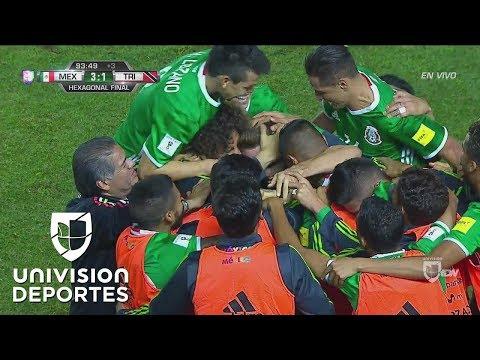 Golazo de Héctor Herrera para el 3-1 de México ante Trinidad y Tobago