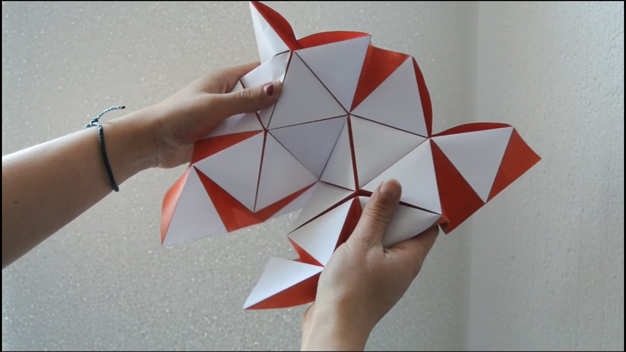 Origami architecture hyperbody youtube for Architecture origami