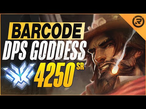 BEST OF BARCODE - DPS GODDESS   Overwatch Barcode Montage