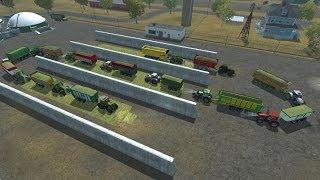 Farming Simulator 2013 Trasporto insilato al biogas con la