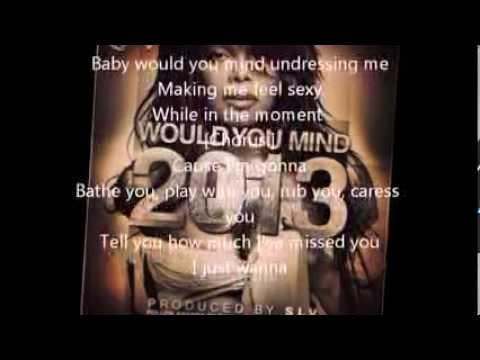 Janet Jackson Would You Mind Lyrics
