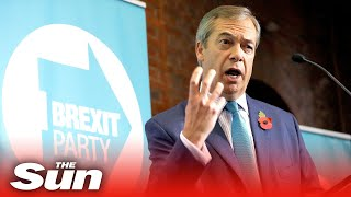 Nigel Farage launches The Brexit Party's election campaign | FULL