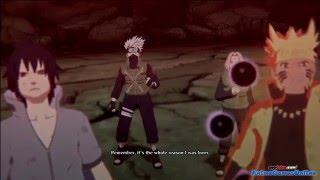 Naruto: Финал битва Саске и Наруто против Кагуи (часть 1 )