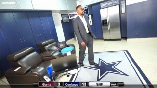 SNF Dallas Cowboys vs The New York Giants