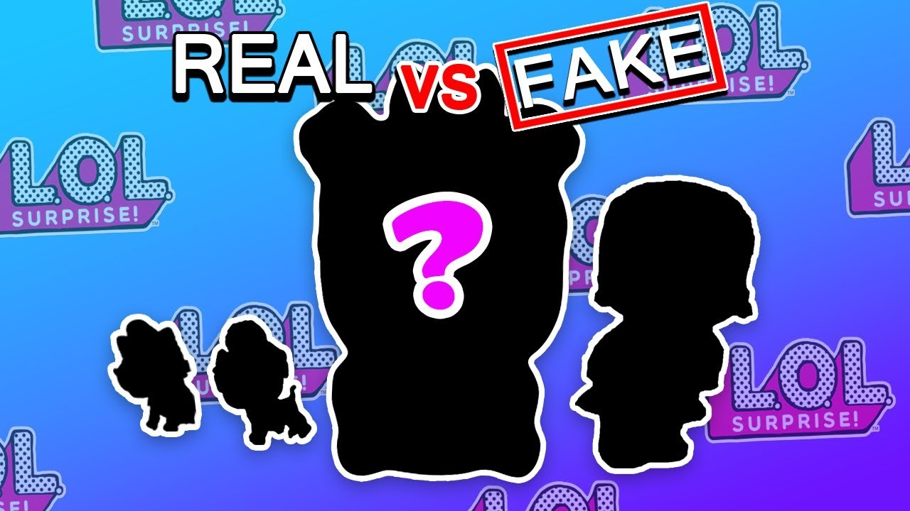 What's inside a FAKE LOL Biggie Pet? - Fake vs Real LOL Biggie Pets