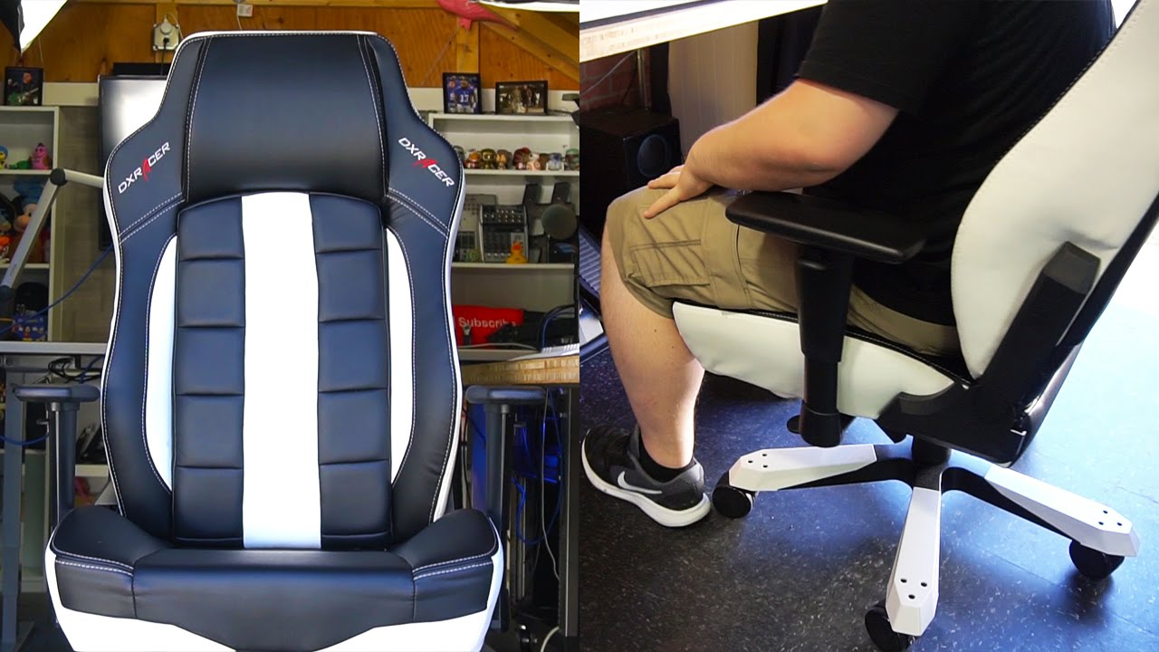 Dxracer Chair Cover Ikea Wooden Covers Classic Series Gaming Review - Youtube