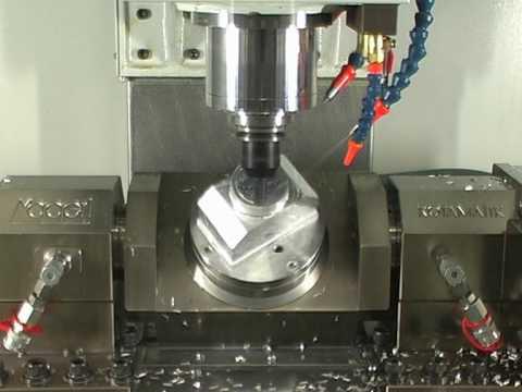 CNC Fräsen 5 Achsbearbeitung UVA UNVERZAGT