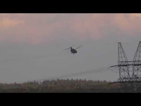 CH-47 Chinook oefening Beekhuizerzand, Harderwijk