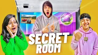 WE BUILD A HIDDEN SECRET ROOM IN OUR HOUSE | Rimorav Vlogs