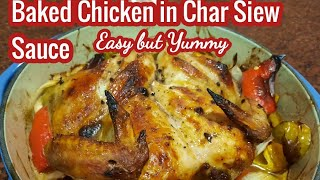 BAKED CHICKEN IN CHAR SIEW SAUCE//Malyn Jaromay