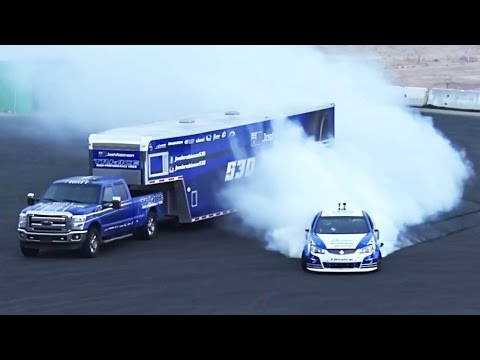 SUPERCHARGED Holden Ute DRIFT - Destroying BRAND NEW Tires!?