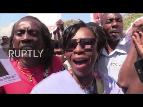 Haiti: Shots fired at ex-Pres Aristide's convoy after testifying against former security chief